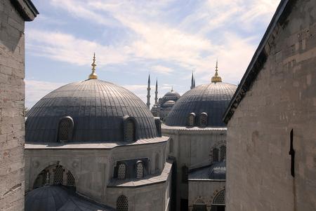 testaments: Exterior of the Hagia Sophia in Istanbul