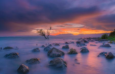 Dianchi sunset