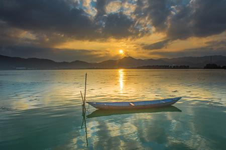 Dianchi Lake Sunset 写真素材