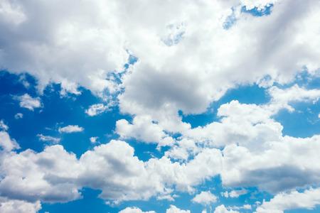 Blue sky, sky, clouds