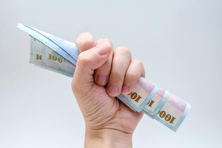 Cash, Taiwan currency,NTD, money, Taiwan Coin, Taiwan money Archivio Fotografico