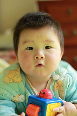 joli b�b� chinois jeu jouet