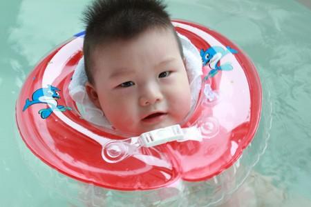 kid bath photo