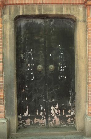 old chinese door Stock Photo - 7814956
