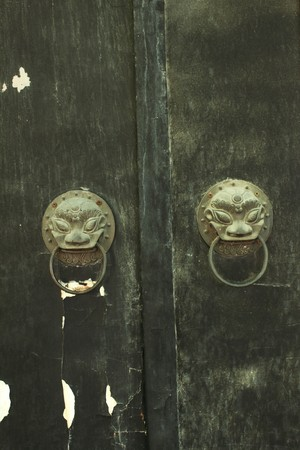 old chinese door Stock Photo - 7814951