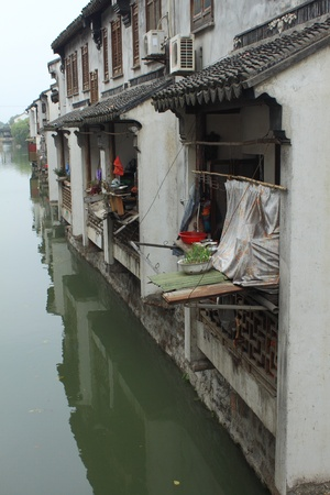 village by river suzhou Stock Photo - 8347265