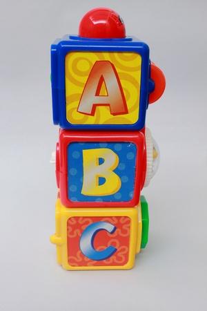 jouet abc blocs Banque d'images