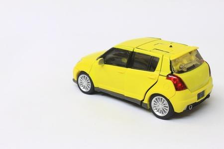 miniature car model Stock Photo