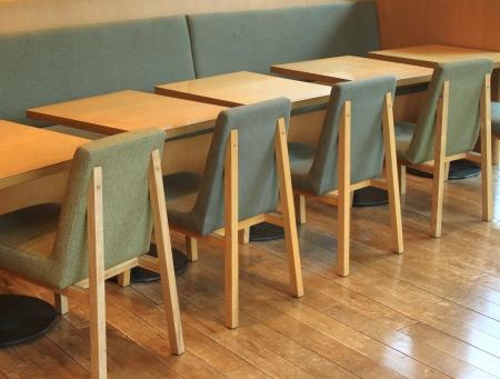 Le restaurant peut accueillir Banque d'images