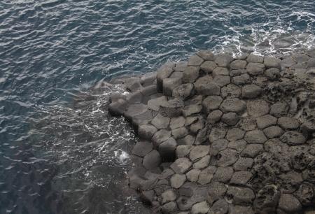 littoral de l'�le de Jeju