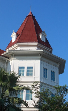 Closeup of a building