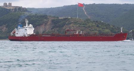 Ship in the lake