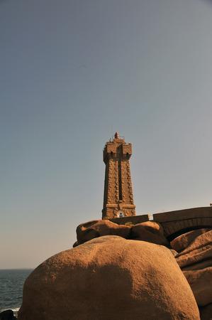 Lighthouse of Tregastel