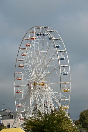 big Wheel 免版税图像