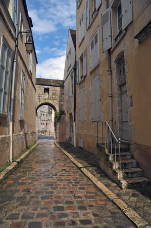 lane in Chartres