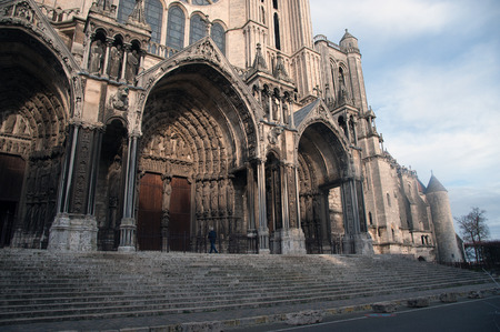 south portal of Chartres Cathedral