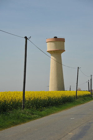 Water tower in Beauce -France