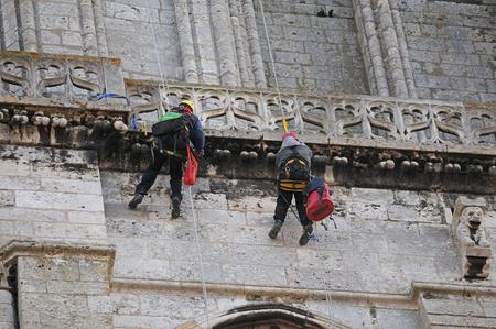 perilous work in rope
