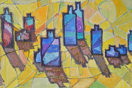 abstract painting 免版税图像
