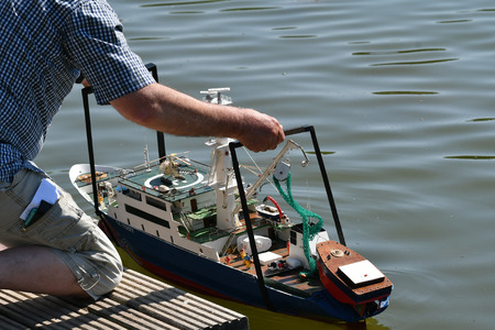 boat model launching