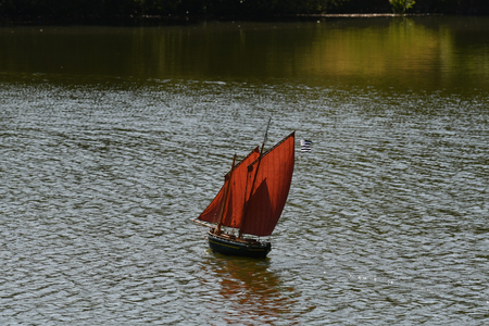 sailboat model model Stock fotó