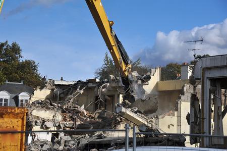 demolition site Stockfoto - 123670822