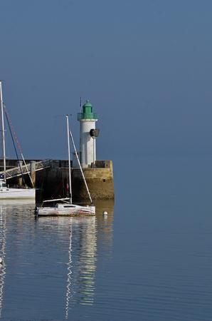 lighthouse of La Fotte en Re - France Stockfoto - 124990195