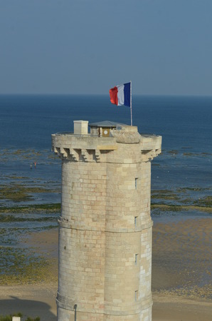 the small lighthouse of Whales on Ile de Re-France