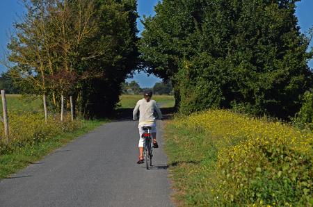 bike ride Reklamní fotografie - 124990222