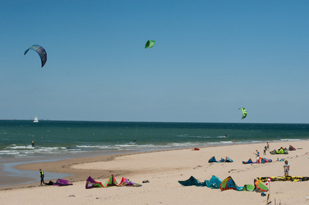 Kitesurf on the island of Re