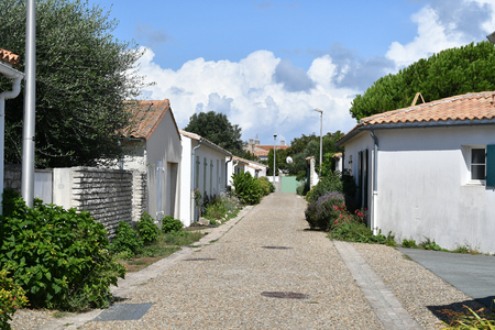 street at the island of Re - France