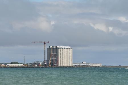 Port of La Palice in La Rochelle - France