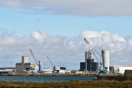 the port of La Palice in La Rochelle -France
