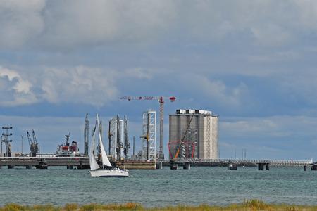 port of La Palice in La Rochelle -France Reklamní fotografie