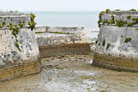 fortification of the citadel of Saint Martin de Re-France