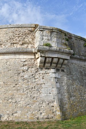 fortification of the citadel of Saint Martin de Re - France