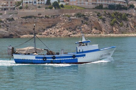 fishing boat Standard-Bild - 126877329