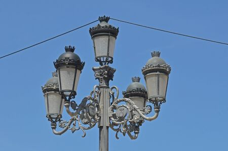 public lamp post