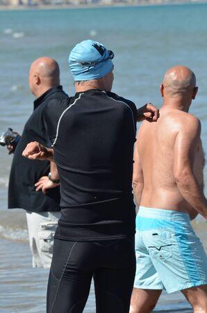 triathlon- before departure