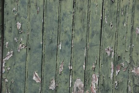 wood panel with chipped paint