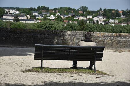 loneliness on the bench