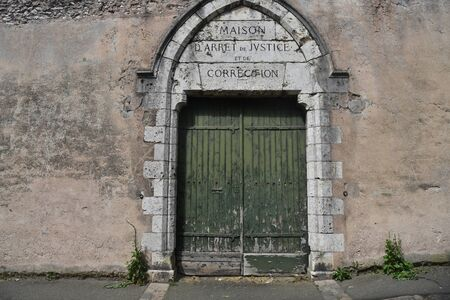 remand house entrance door
