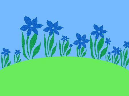 daffodils: Daffodils garden