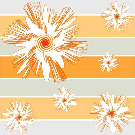 spiky: Spiky florals Stock Photo