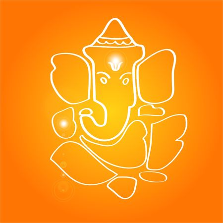 Sri Ganesha - Hindu deity Stock Photo - 463882