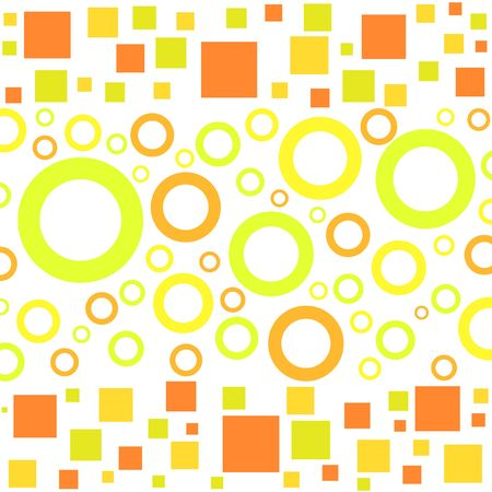 Funky circles and squares