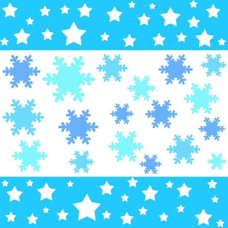 Stars and snow flakes designs