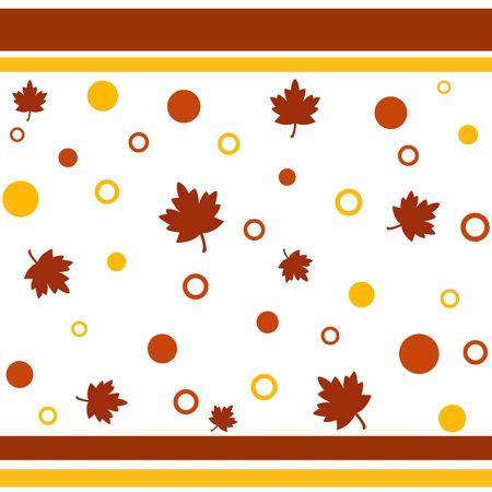 Funky fall design Stock Photo
