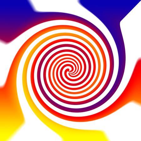 Colorful spiritual chakra