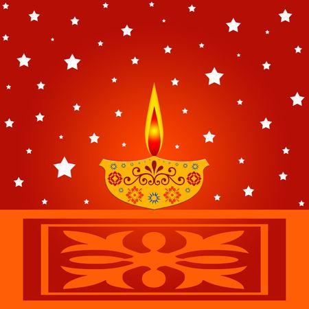 Indian diwali festival design